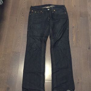 Men's True Religion dark jeans